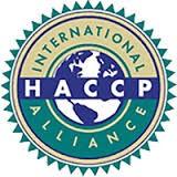 Sello International HACCP Alliance de EEUU